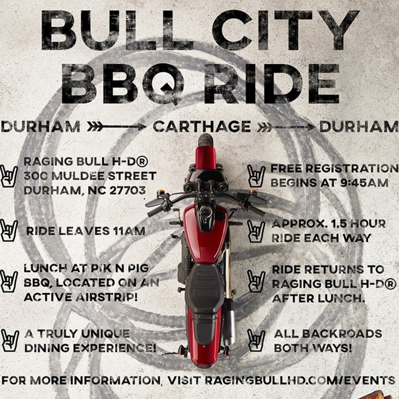 Motorcycle Event: Bull City Bbq Ride